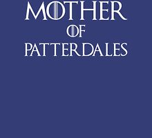 Mother of Patterdales Dog T Shirt Womens Fitted T-Shirt
