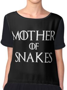 Mother of Snakes T Shirt Chiffon Top