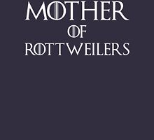 Mother of Rottweilers T Shirt Womens Fitted T-Shirt