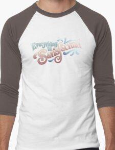 Everything Is Satisfactual Men's Baseball ¾ T-Shirt