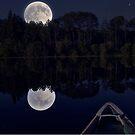Cariboo Super Moon by Skye Ryan-Evans