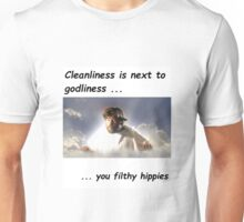 cleanliness is next to godliness Unisex T-Shirt