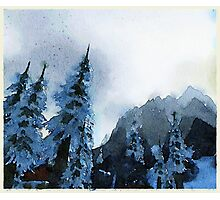 Northrend by Night Photographic Print