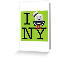 Ghostbusters - I Stay Puft New York Greeting Card