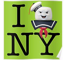 Ghostbusters - I Stay Puft New York Poster