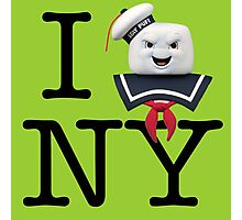 Ghostbusters - I Stay Puft New York Photographic Print