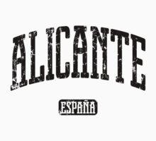 Alicante Spain (Black Print) One Piece - Long Sleeve