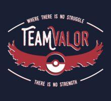 Team Valor - Strength Through Struggle Kids Tee