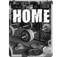 The Gym Is My Home iPad Case/Skin