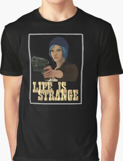 gun life is strange art t-shirts Graphic T-Shirt
