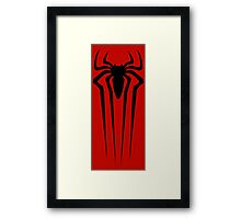 the amazing spider man logo Framed Print