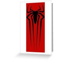 the amazing spider man logo Greeting Card