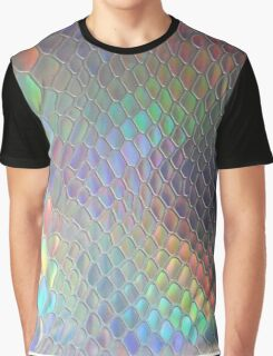 Holographic croc Graphic T-Shirt