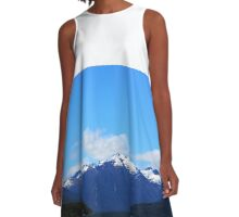 LakeTe Anau and the Mountains A-Line Dress