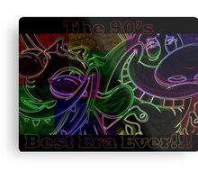 Ren & Stimpy Spin Off Color Metal Print