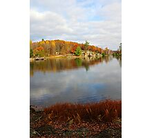 Trout Lake In Omega Park II Photographic Print