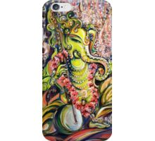 Ganesha - Playing Tanpura iPhone Case/Skin