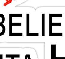 I Believe Anita Hill Sticker