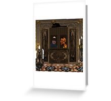 Devil's Confession Greeting Card