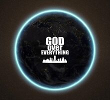 God Over Everything Merchandise - Pillows by KevinDJimison