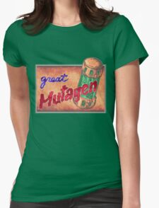 Great Mutagen  Womens Fitted T-Shirt