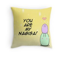 Clannad Dango - You are my Nagisa! Throw Pillow
