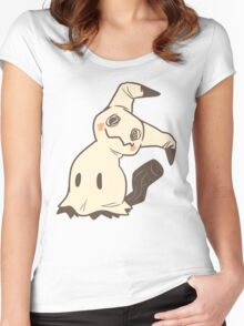 Pastel Mimikyu Women's Fitted Scoop T-Shirt