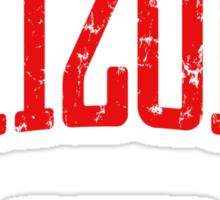 Arizona Represent (Red Print) Sticker