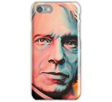 """Magnetic Moment"" Portrait of Michael Faraday iPhone Case/Skin"