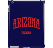 Arizona Represent (Red Print) iPad Case/Skin