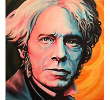 """""""Magnetic Moment"""" Portrait of Michael Faraday Photographic Print"""