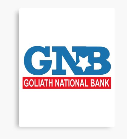 "HIMYM ""Goliath National Bank"" Canvas Print"