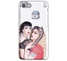 Adore Delano x Violet Chachki  iPhone Case/Skin