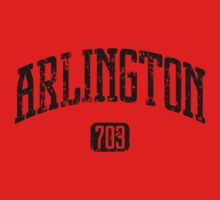 Arlington 703 (Black Print) One Piece - Long Sleeve