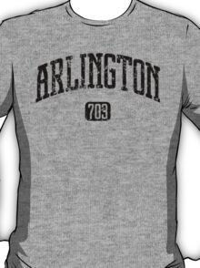 Arlington 703 (Black Print) T-Shirt