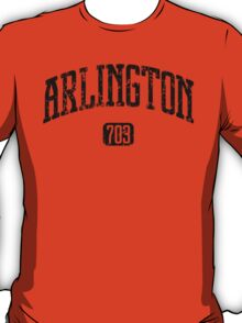Arlington 703 (Black Print) T-Shirt