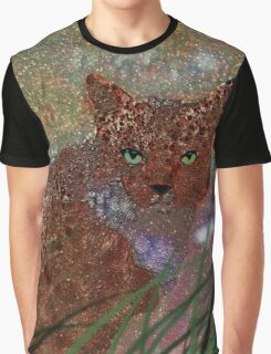 Spotted Cat Graphic T-Shirt
