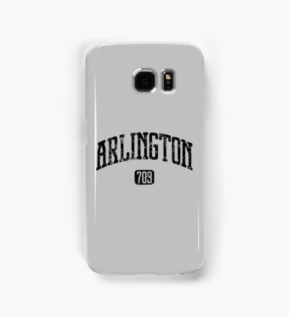 Arlington 703 (Black Print) Samsung Galaxy Case/Skin
