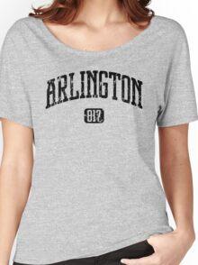 Arlington 817 (Black Print) Women's Relaxed Fit T-Shirt