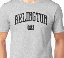 Arlington 817 (Black Print) Unisex T-Shirt