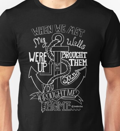 Home Coloured Unisex T-Shirt