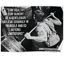 Go Beyond Limitations Poster