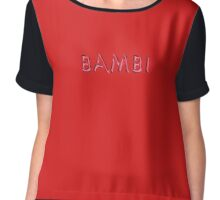 Bambi Chiffon Top