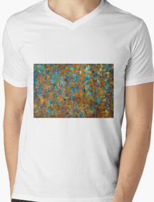 Color Abstraction LXXIV Mens V-Neck T-Shirt