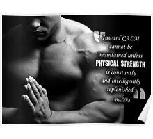 Inward Calm and Physical Training Poster