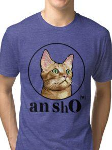 TITO THE CAT - AN SHO(w)  Tri-blend T-Shirt