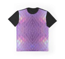 Holographic snake Graphic T-Shirt