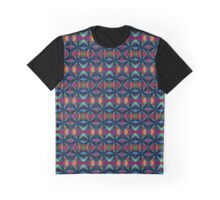 Painted Silk Graphic T-Shirt