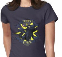 Terrible Terror! Womens Fitted T-Shirt