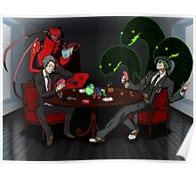 Adachi + Hazama  Poster